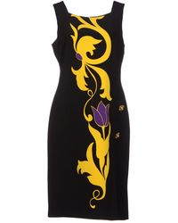 Versace 34 Length Dress - Lyst