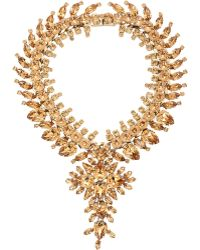 Givenchy - Strass Crystal Collar Necklace-colorless - Lyst