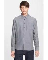 Rag & Bone Men'S Slim Fit Brushed Oxford Dress Shirt - Lyst