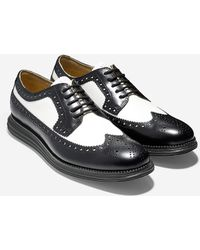 Cole Haan Original Grand Long Wingtip black - Lyst