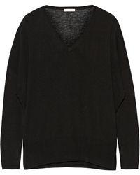 American Vintage Blossom Fineknit Woolblend Sweater - Lyst