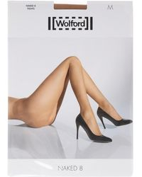 Wolford Naked 8 Denier Tights - Lyst