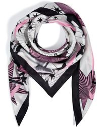 Matthew Williamson Silk Nova Sprinkle Scarf - Lyst