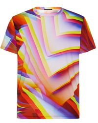 Christopher Kane Gradient Pages Digital Print T-shirt - Lyst
