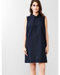 Gap Sleeveless Shift Dress - Lyst