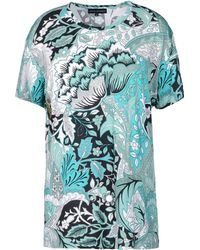 Jonathan Saunders Short Sleeve Tshirt - Lyst