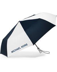 Michael Kors - Color-block Lucite-handle Nylon Umbrella - Lyst