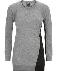McQ by Alexander McQueen Twotone Wool Sweater - Lyst