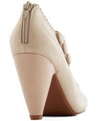 Miz Mooz - Dance The Day Away Heel In Cream - Lyst