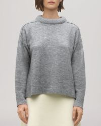 Whistles Sweater - Allissa Padded Neck - Lyst