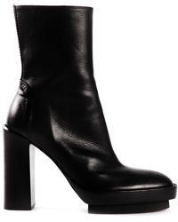 Ann Demeulemeester High Heeled Boots - Lyst