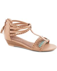 ModCloth The Tides Have Twisted Wedge - Lyst