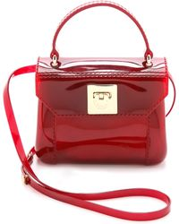 Furla Candy Mini Cross Body Bag Oxford - Lyst