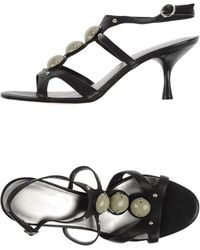 Nine West Sandals black - Lyst