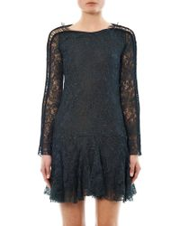Isabel Marant Magda Laceembroidered Dress - Lyst