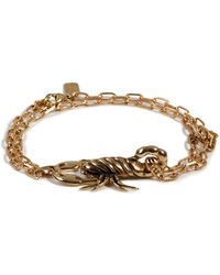 Pamela Love Brass Scorpion Chain Bracelet - Lyst