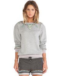 Hemant & Nandita - Crystal Sweatshirt - Lyst