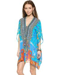 Camilla Short Lace Up Caftan - Take My Hand - Lyst
