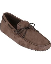Tod's Gommino 122 My Color Nubuck Driving Shoe - Lyst