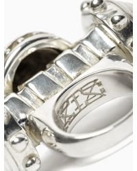 KTZ - Double Spike Ring - Lyst