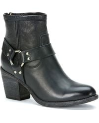 Frye Tabitha Harness Ankle Boots - Lyst