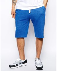 Asos Jersey Shorts in Longer Length - Lyst
