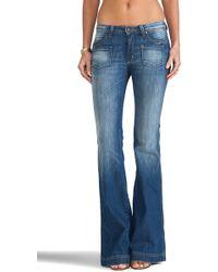 Frankie B. Jeans Carly Hi Rise Wide Leg - Lyst
