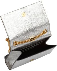 Saint Laurent Cassandre Small Tassel Shoulder Bag - Lyst