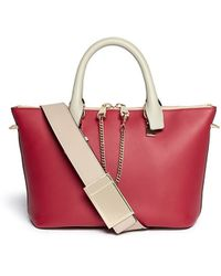 Chloé Baylee Small Leather Shoulder Bag - Lyst