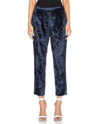 MiH Jeans Blue Marin Pant - Lyst