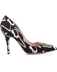 Kate Spade Pointed Toe Pumps - Lava Heart High Heel - Lyst