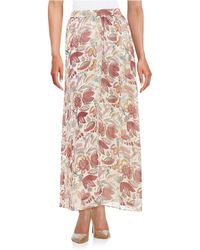 Two By Vince Camuto | Pleated Maxi Skirt | Lyst