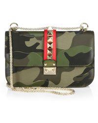 Valentino Camouflage Rocklock Shoulder Bag - Lyst