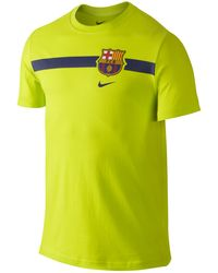 Nike Men'S Fc Barcelona Core T-Shirt - Lyst