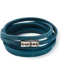 Diesel Multiple Strap Bracelet - Lyst