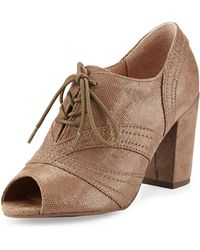 Seychelles Eternity Peep-toe Oxford Pump - Lyst