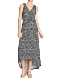 Old Navy Crossfront Highlow Maxi Dresses - Lyst