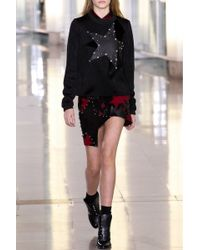 Anthony Vaccarello | Star Patchwork Leather Skirt | Lyst