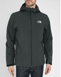 The North Face Charcoal Waterproof Great Falls Jacket - Lyst
