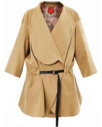 Vivienne Westwood Red Label - Linenblend Slouchy Coat - Lyst
