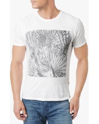 7 For All Mankind Palm Tee - Lyst