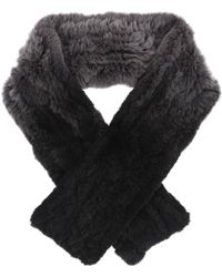 Ming Yang | Fur Ombre Scarf | Lyst