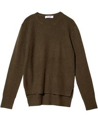Organic Rib Pullover with Tail - Lyst