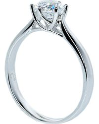 Carat* - Rosy Round 3.5ct Solitaire Ring - Lyst
