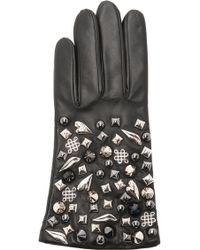 Diane von Furstenberg | Studded Leather Gloves | Lyst