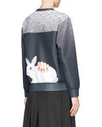 Helen Lee - Rabbit Icon Oriental Print Pullover - Lyst