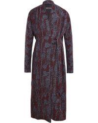 Damir Doma Womens Cadia Kimono Sleeve Coat - Lyst