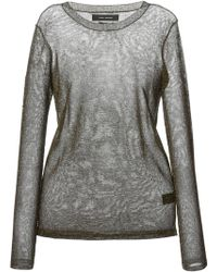 Isabel Marant Sheer Sweater - Lyst
