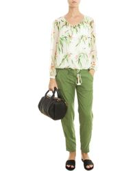 Elizabeth And James Toledo Trousers green - Lyst