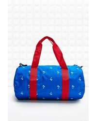 Herschel Supply Co. Sutton Barrel Bag In Palm Tree Print - Lyst